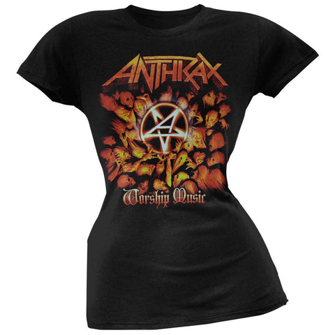 Anthrax - Worship Music Juniors T-Shirt