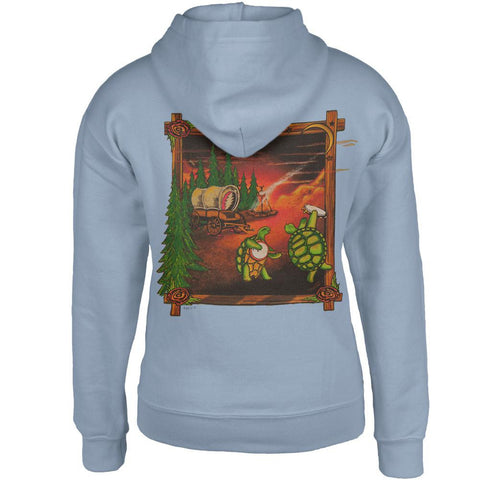 Grateful Dead - Covered Wagon Terrapins Light Blue Youth Hoodie