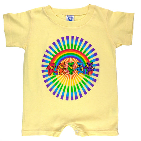 Grateful Dead - Rainbow Bears Butter Infant Romper