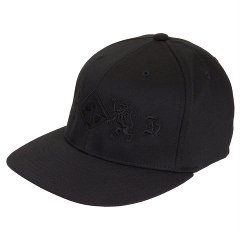Machine Head - Black Lion Crested Fitted Cap