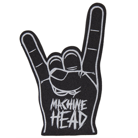 Machine Head - Logo Metal Sign Foam Finger