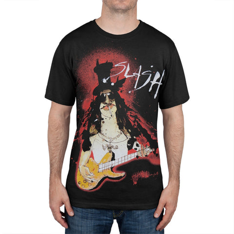 Slash - Steadman Portrait T-Shirt