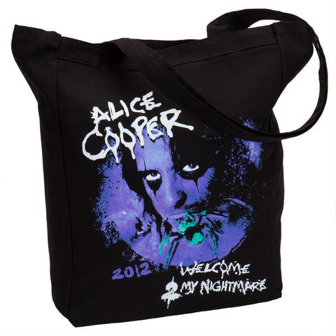 Alice Cooper - Welcome 2 My Nightmare 2012 Tour Tote Bag