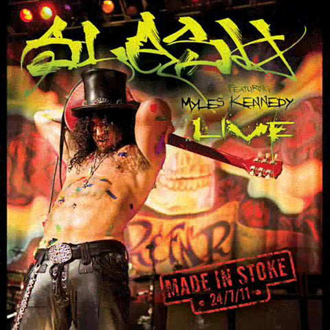 Slash - Made In Stoke - Live Featuring Myles Kennedy 3 CD Set
