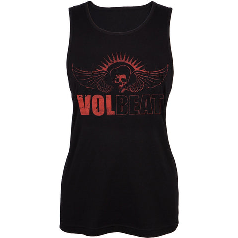 Volbeat - Skull Wings Juniors Tank Top