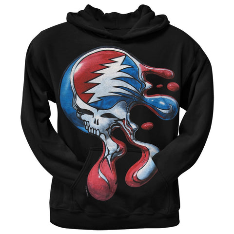 Grateful Dead - Steal Your Face Melt Pullover Hoodie