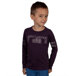 John Lennon - Vintage Portrait Youth Premium Long Sleeve T-Shirt