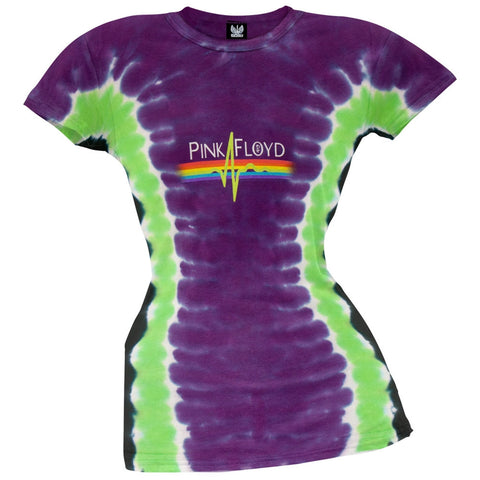 Pink Floyd - Pulse Juniors Tie Dye T-Shirt