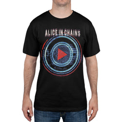 Alice In Chains - Play Button Scranton Las Vegas Tour T-Shirt