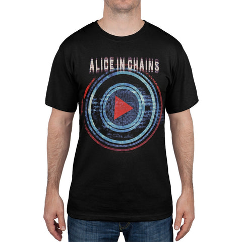 Alice In Chains - Play Button Miami to San Antonio Tour T-Shirt