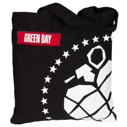 Green Day - Grenade Denim Tote Bag