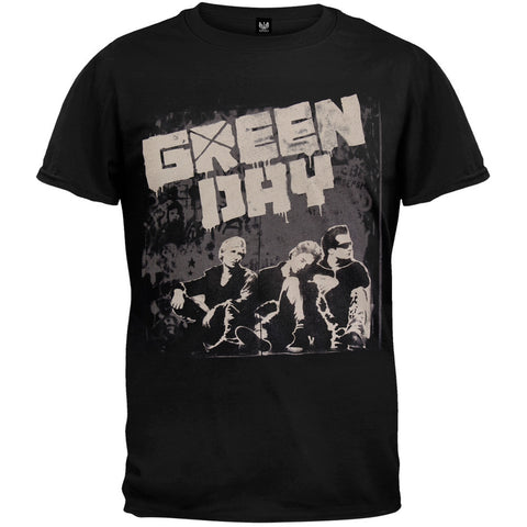 Green Day - Grey Wall 2010 Tour T-Shirt