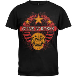 Guns N' Roses - Wheat Skull 2009/2010 Tour T-Shirt