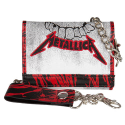 Metallica - Smudge Keeper Leather Chain Wallet