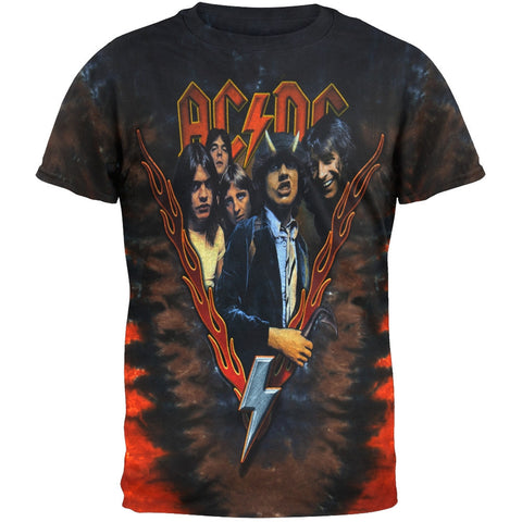 AC/DC - Highway To Hell Tie-Dye T-Shirt