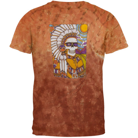 Grateful Dead - Indian Chief Tie Dye T-Shirt