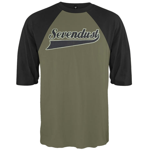 Sevendust Embroidered 3/4 Sleeve