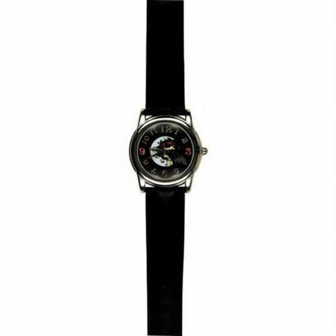 Grateful Dead - Black Skull & Roses Watch
