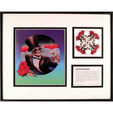 Grateful Dead - Mr. Saturday Night Framed Art