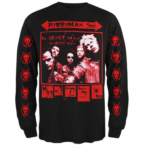 Powerman 5000 - Spider Long Sleeve T-Shirt
