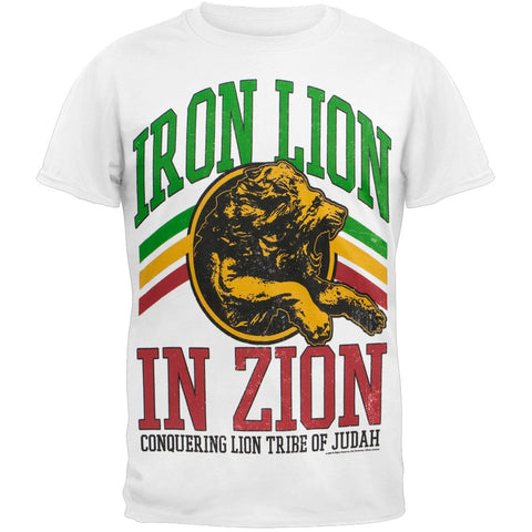 Bob Marley - Iron Lion in Zion Adult T-Shirt