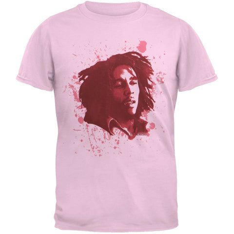 Bob Marley - Splatter Paint Portait Girls Youth T-Shirt