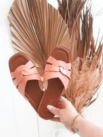 Glam slides- peach