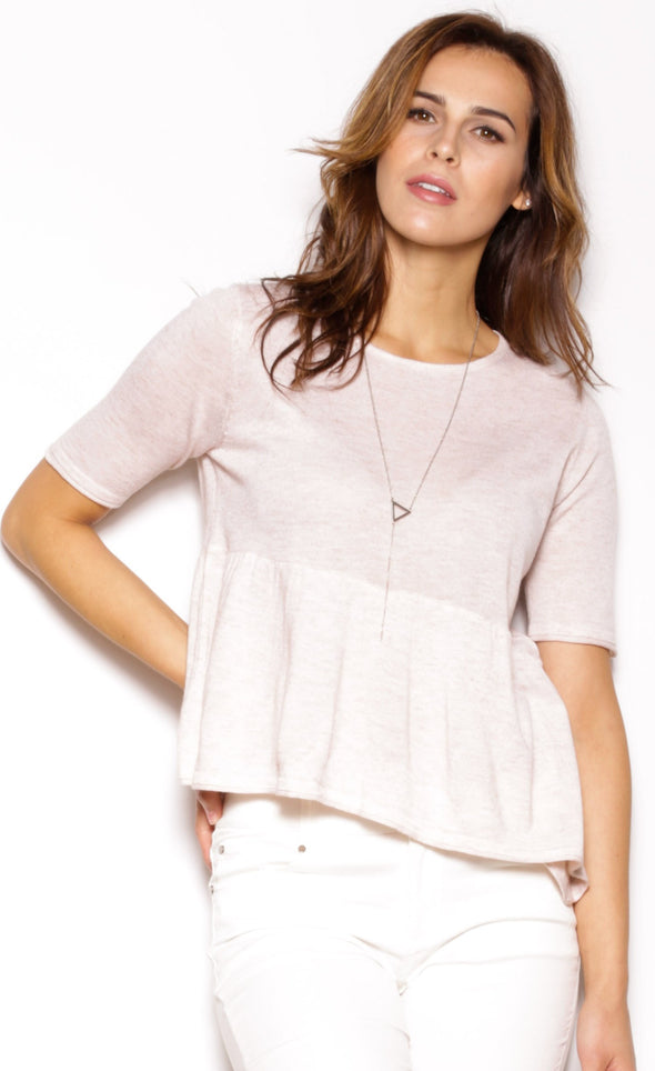 Adelaide Top Beige - Pink Martini Collection