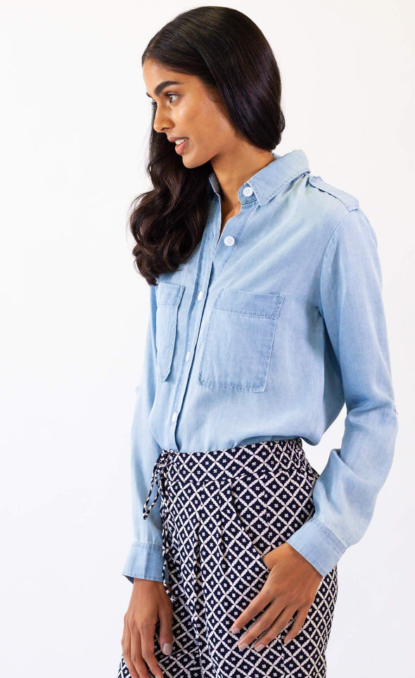 Blue Jeans Top - Pink Martini Collection