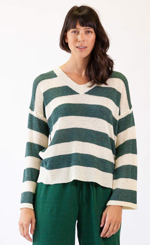 Coast Cottage Sweater - Pink Martini Collection