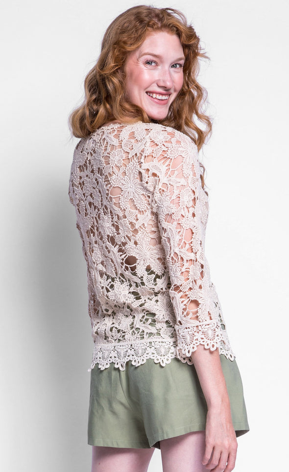 The Lacey Top - Pink Martini Collection