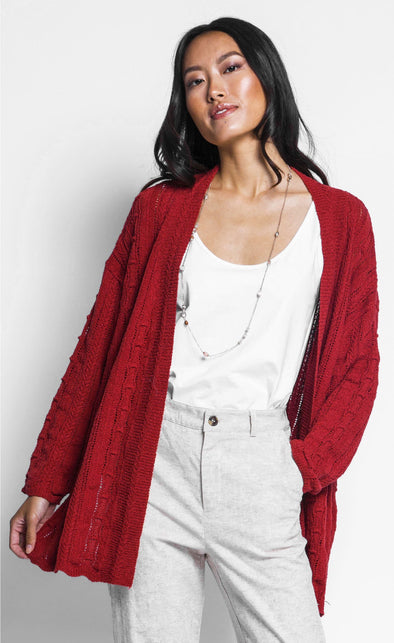 The Avel Cardigan - Pink Martini Collection