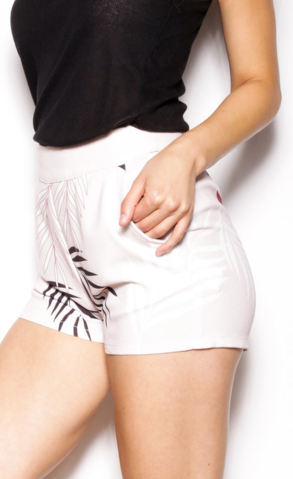 Leaf an Impression Shorts - Pink Martini Collection