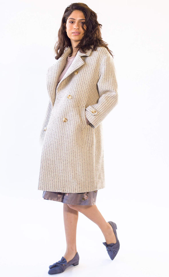 Anna Molly Coat - Pink Martini Collection