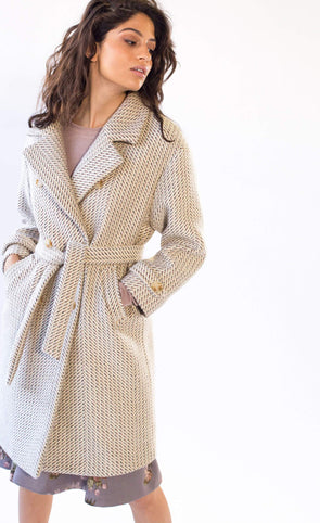 Anna Molly Coat Beige