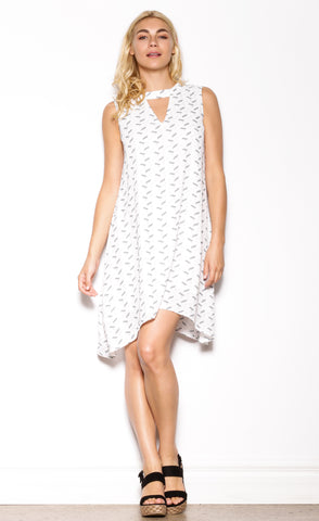 Electric Feel Dress White