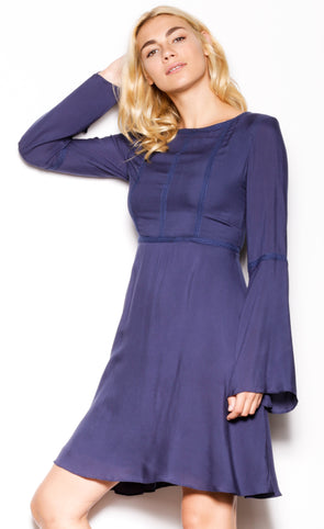Daenerys Dress Navy - Pink Martini Collection