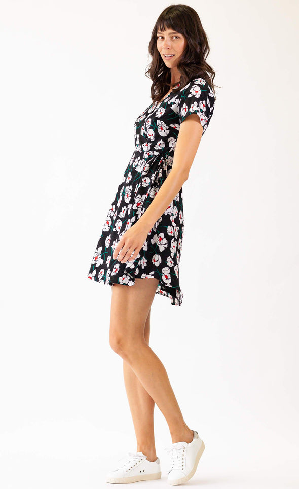 Sweet Attitude Dress Black - Pink Martini Collection