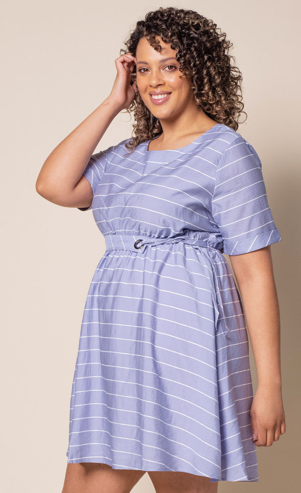 Beach Waves Dress - Pink Martini Collection