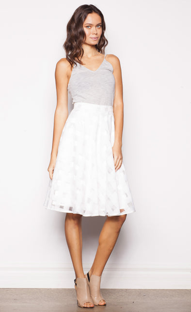 Dorothy Skirt White - Pink Martini Collection