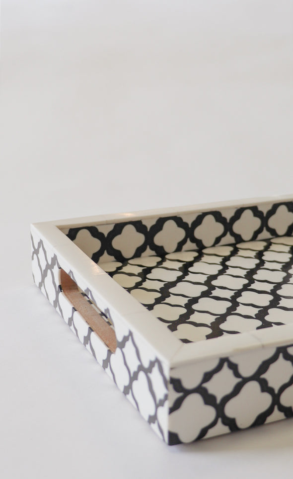 The Geometric Serving Tray - Pink Martini Collection