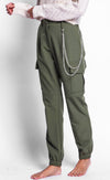 The Lexi Cargo Pants - Pink Martini Collection