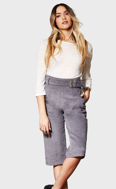 The Julia Pant Grey - Pink Martini Collection