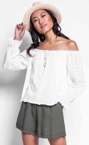 The Jannette Top - Pink Martini Collection