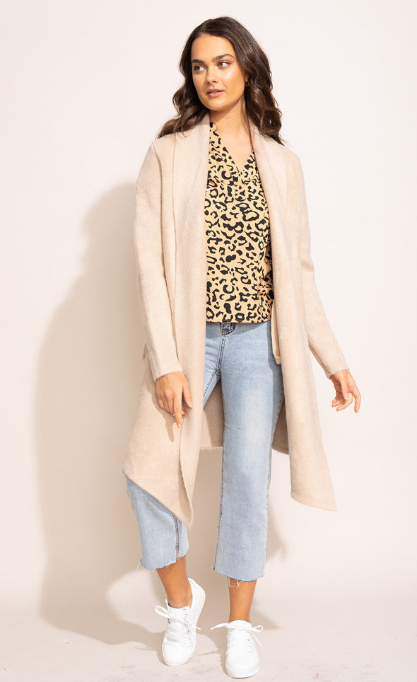The Stockport Jacket Beige - Pink Martini Collection