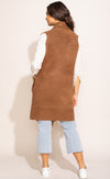 The Stockport Vest Brown - Pink Martini Collection
