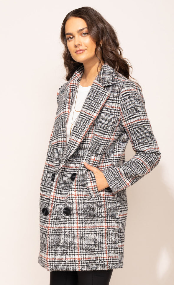 The Siena Coat - Pink Martini Collection