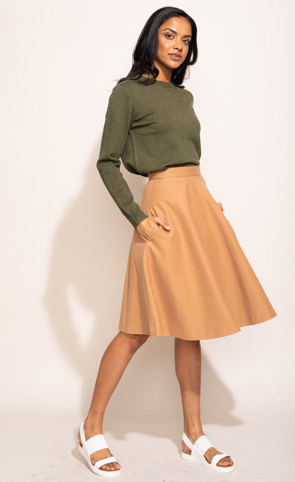 The Hotline Swing Skirt - Pink Martini Collection