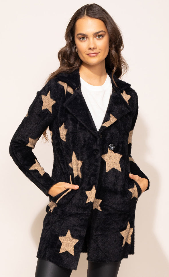 Starry Night Sweater - Pink Martini Collection