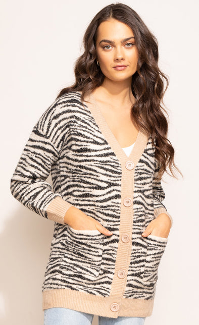 The Lyla Cardigan - Pink Martini Collection
